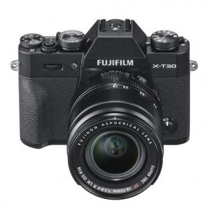 Fujifilm X-T30 Mirrorless Camera with XF 18-55mm f/2.8-4 R LM OIS Lens - Black