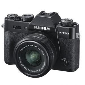 Fujifilm X-T30 Mirrorless Camera with XC 15-45mm f/3.5-5.6 OIS PZ Lens - Black