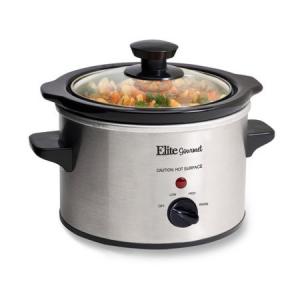 Elite Gourmet 1.5-qt Slow Cooker