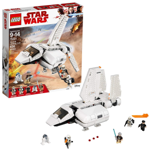 LEGO Star Wars Imperial Landing Craft 75221 Building Kit, Obi-Wan Kenobi, Imperial Shuttle Pilot,
