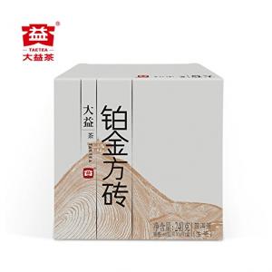TAETEA Platinum PU'ER TEA Organic Black Tea Brick Raw Tea 4 Packs