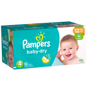 Pampers Baby Dry Diapers Super Pack