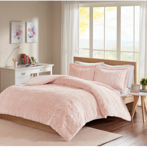 Kylie Chevron Ultra Plush Comforter Mini Set - JLA Home Twin