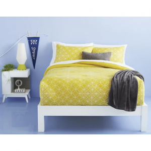 Geometric Comforter Set Yellow/Gray - Room Essentials