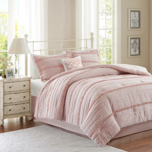 Alexis Ruffle Comforter Set - 5pc California King