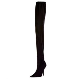 Balenciaga Jersey Crepe Over-the-Knee Boot