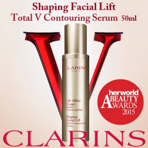 10% Off + Extra 20% Off Clarins Shaping Facial Lift Total V-Contouring Serum - 50ml