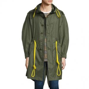 Burberry Men's Trentbridge Nylon Drawstring Jacket