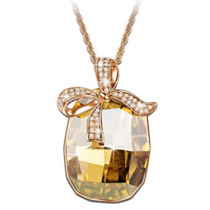 BRILLA Swarovski Elements Crystal Gifts Fashion Jewelry Pendant Necklace for Women