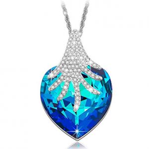 BRILLA Swarovski Elements Crsstal Fashion Necklace Pendants Jewelry for Women