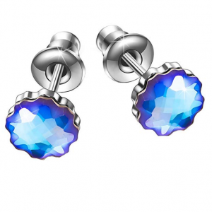 BRILLA Valentines Day Gifts for Women Stud Earrings Shell lights Womens Fashion Jewelry