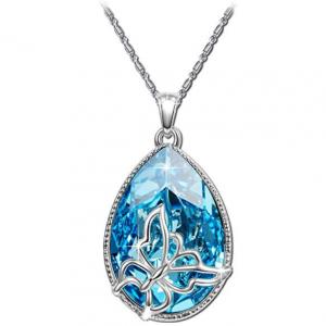 BRILLA TAETEA Women's Swarovski Elements Crystal Fashion Necklace Pendants Jewelry