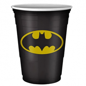 20-Ct. Batman Logo Disposable Plastic Cup Set