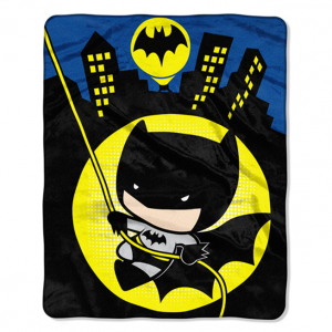 Batman Gotham Adorable Reversible Silk-Touch Throw