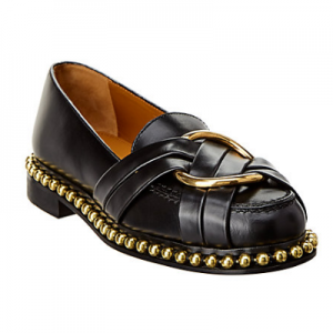 Chloé Buckle Leather Loafer