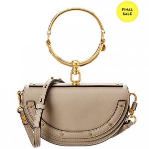 Chloe Nile Minaudiere Leather Shoulder Bag
