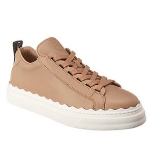 Chloé Lauren Leather Sneaker