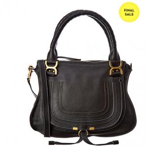 Chloe Marcie Medium Leather Shoulder Bag