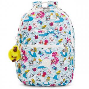 """Seoul Disney's Alice In Wonderland Printed 15"""" Laptop Backpack"""