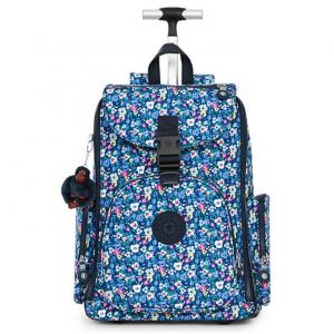 Alcatraz II Printed Rolling Laptop Backpack