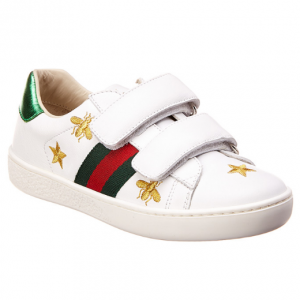 Gucci Bees & Stars Leather Sneaker