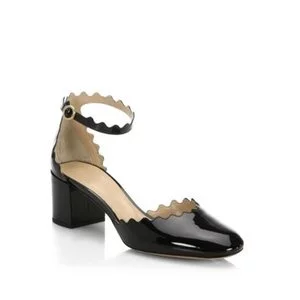 Chloé Lauren Leather Pumps