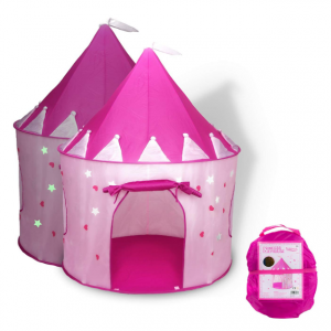 50% off Fox Print Princess Castle Play Tent with Glow in The Dark Stars @ Amazon