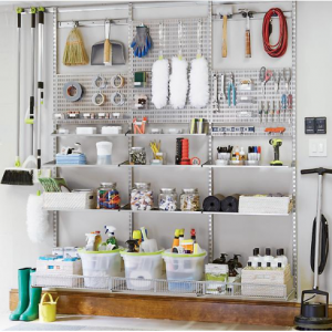 Platinum Elfa Utility Basement Storage, DIY