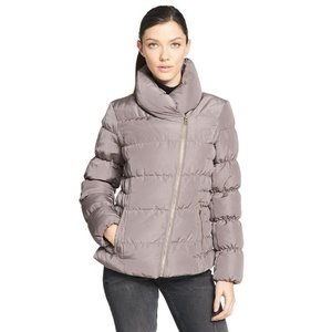 Web Buster Kenneth Cole Asymmetrical Zip Down Puffy Jacket