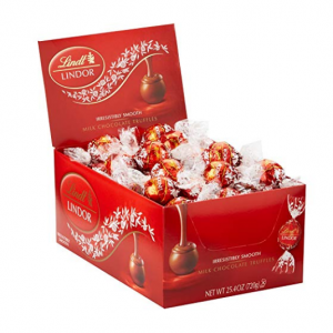 $8.46 for Lindt LINDOR Assorted Chocolate Truffles, Kosher, 21.2 Ounce Bag @ Amazon