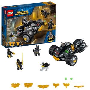 LEGO DC 超级英雄蝙蝠侠大战利爪军团 76110