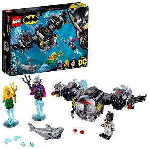 LEGO DC 蝙蝠侠系列:蝙蝠侠潜艇水下大战 76116