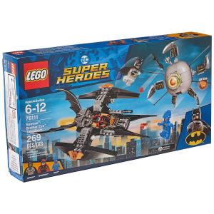 LEGO DC 超级英雄蝙蝠侠决战兄弟眼 76111