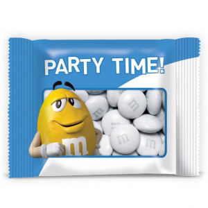 Personalized Blue Party Favor Packs