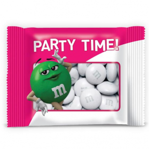 Personalized Pink Party Favor Packs