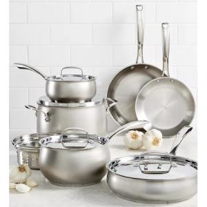 Belgique 11-Pc. Stainless Steel Cookware Set