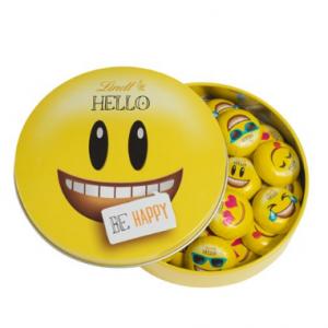 Milk HELLO Emoji Tin (25-pc, 5.6 oz)