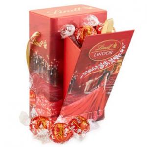 Red Carpet LINDOR Gift Box (12-pc)