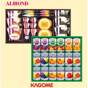 アマンド焼き菓子+すこやかファミリーセット[ALM-25+KSR-20W]