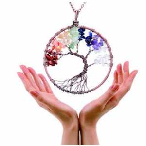 $13 for Sedmart Tree of Life Pendant Amethyst Rose Crystal Necklace @ Amazon