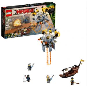 LEGO Ninjago Movie Flying Jelly Sub 70610 (341 Pieces)