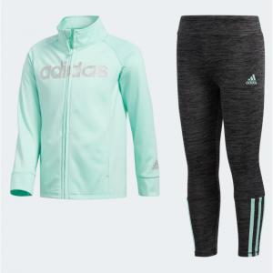 adidas 女童运动套装