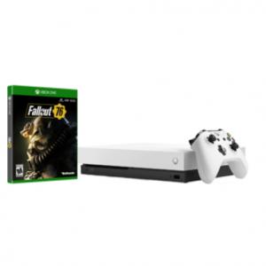 $100 OFF Xbox One X 1TB Fallout 76 Bundle @GameStop