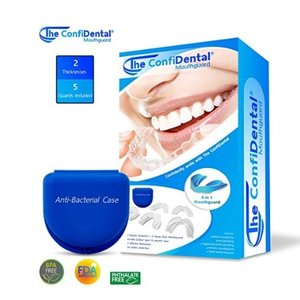 $18.97 The ConfiDental Pack of 5 Moldable Mouth Guard for Teeth Grinding @ Amazon