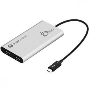 SIIG Thunderbolt 3 to Dual DisplayPort Adapter 5K@60Hz @ Amazon