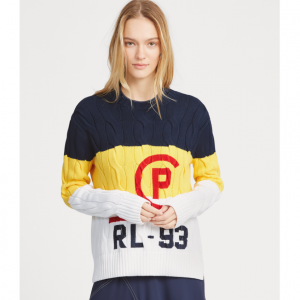 POLO RALPH LAUREN CP-93 Cable Cotton Sweater