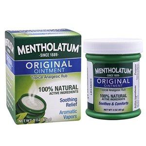 Mentholatum Ointment, 3 Ounce 85g @ Amazon.com