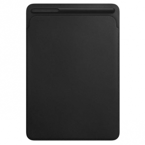 Apple Leather Sleeve (for iPad Pro 10.5-inch) - Black @ Amazon
