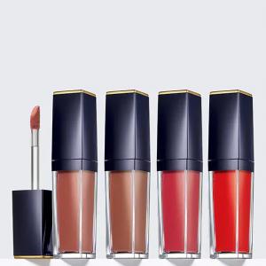 $84 off Pure Color Envy Liquid Lip Collection Nudes to Corals @ Estée Lauder
