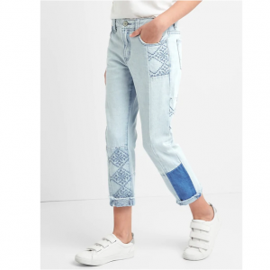 Gap for Good Girlfriend Jeans with Patch Detailing